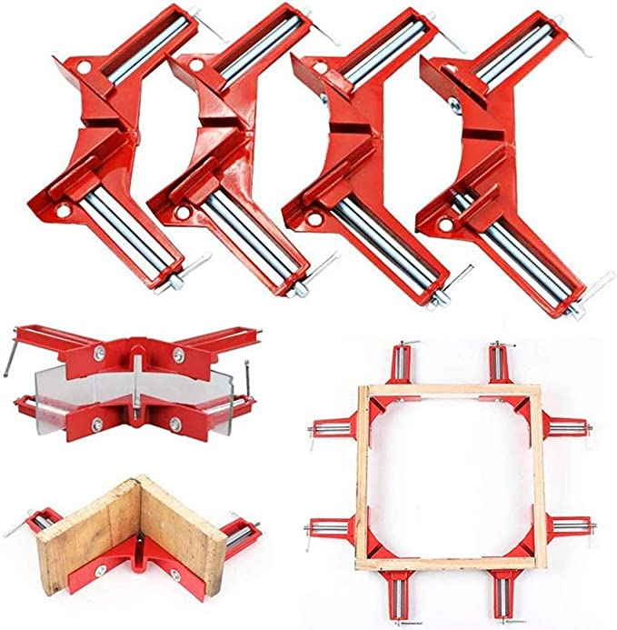 Photo FREE SHIP Details about  /Quick-Jaw Right Angle 90 Degree Corner Clamp For Welding
