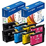 PrintOxe™ Compatible 2 Sets for 932XL & 933XL of 8 Ink Cartridges 932 / 933 (2 Black, 2 Cyan, 2 Magenta, 2 Yellow) Exclusively sold by PanContinent