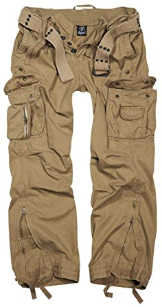 Brandit Royal Vintage Trousers Cargohose beige