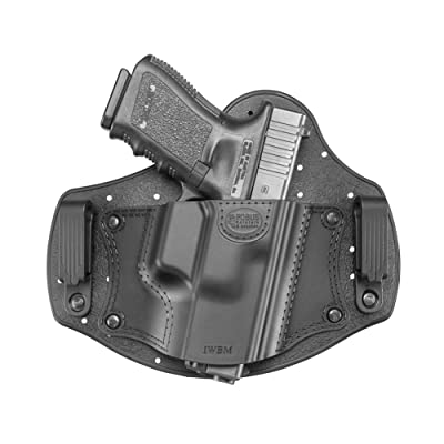 Fobus New IWB Inside The Waist Band Holster Fits Taurus 709 Slim & PT111 G2, Ruger SR9/40/45, Ruger LC9/9s, S&W Shield, Walther PPQ & P99, Beretta PX4 Compact, Glock 26 & 19