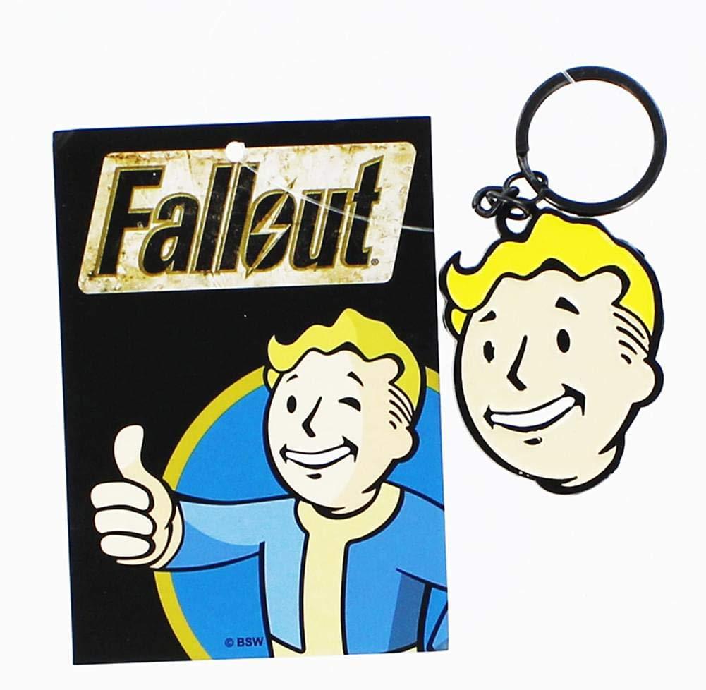 Llavero, diseño de Vault Boy de Fallout: Amazon.es: Coche y moto