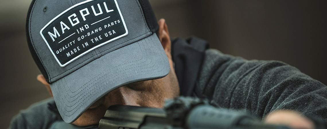 Magpul Go Bang Mid Couronne Casquette Snapback Coton//Polyester Gris