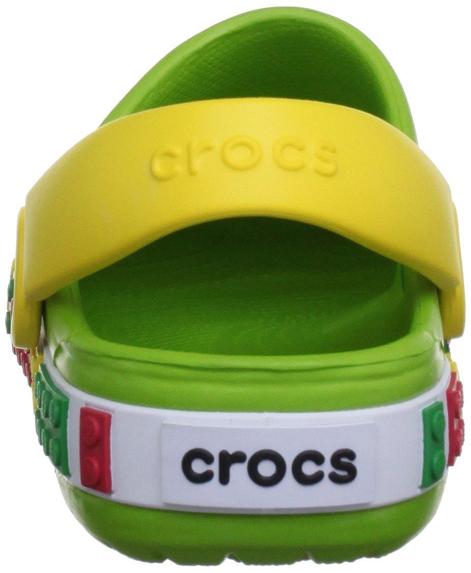 c62f9fea8c514 crocs Crocband Kids Lego Unisex-Kinder Clogs Crocs Europe B.V. 12080  größeres Bild