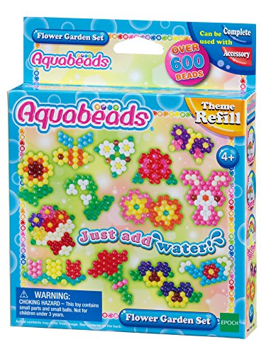 Aquabeads Flower Garden Theme Refill Set