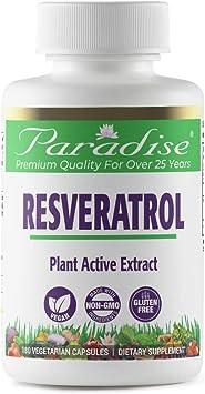 Amazon Com Paradise Resveratrol Plant Active Extract 20