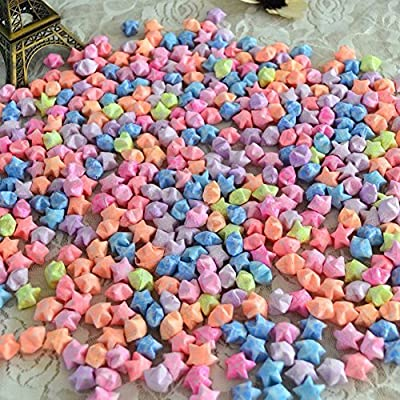Dutch Brook Origami Paper Luminous Lucky Wish Stars Glows In The Dark 100pcs/Bag (Mixed Color)