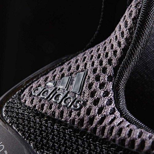 adidas Unisex-Kinder Alphabounce J Fitnessschuhe, EU Schwarz