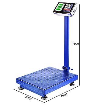 ASA La Tabla electrónica de la balanza electrónica de pesaje de la Escala Dijo el Equipo electrónico Industrial 300kg: Amazon.es: Deportes y aire libre