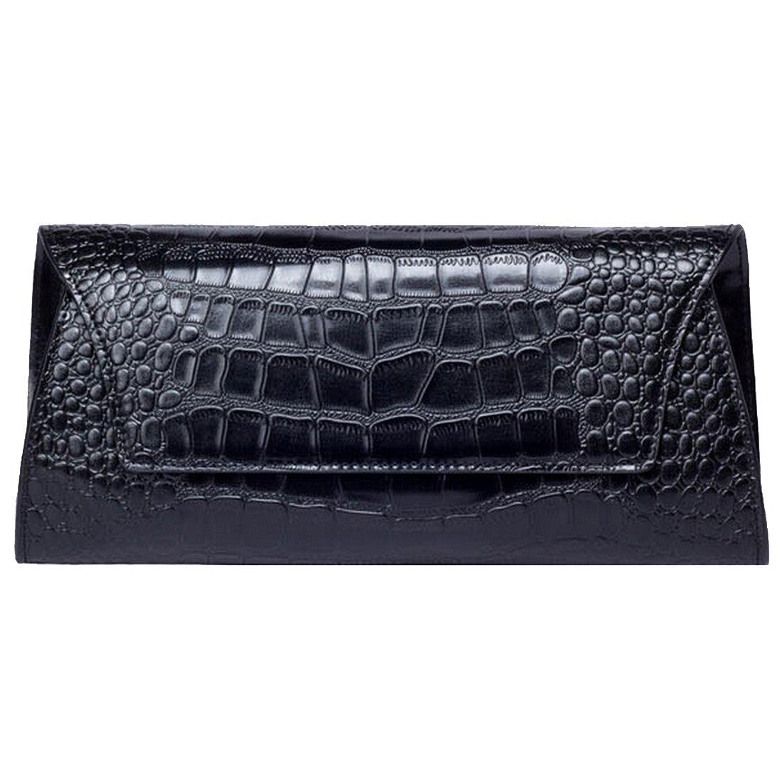 Missmay Women's Genuine Leather Handbag Shoulder Bag Purse Clutch White