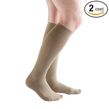 great look many fashionable great fit VenActive Mens 20-30 mmHg Compression Socks, Classic Rib