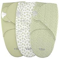 Swaddle Blanket for Baby, Newborn Boy or Girl Adjustable Sleepsack, Unisex, Organic...
