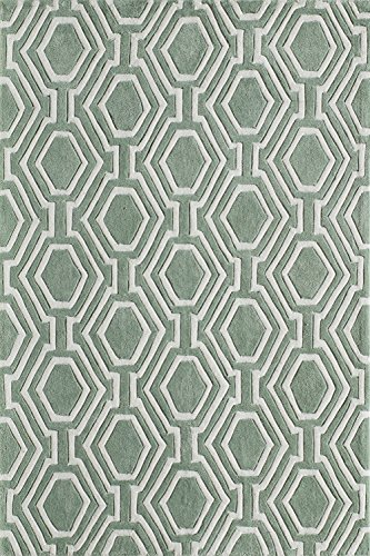Momeni Rugs Bliss Collection, Hand Carved & Tufted Contemporary Area Rug, 3'6