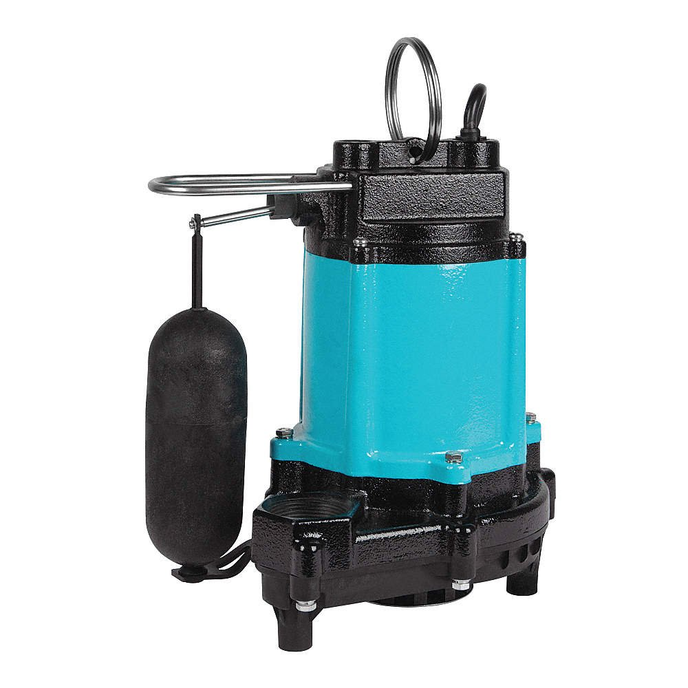 Sump Pump, Vertical Switch, 1/2 HP, 115V