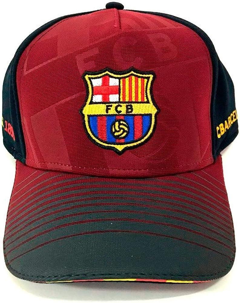 ZiNGS Gorra Oficial del F.C. Barcelona - Burdeos: Amazon.es: Ropa ...