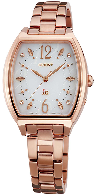 ORIENT watch iO Io costume jewelry Solar radio WI0151SD white WI0151SD Ladies by io (Image #1)