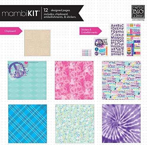 Me And My Big Ideas Page Kit 12 X 12 Friends