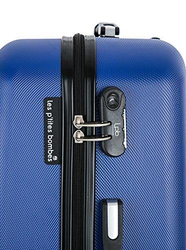 LES ptites Bombes starren Trolley BD-5840 Blue 60 cm