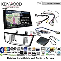 Volunteer Audio Kenwood Excelon DNX994S Double Din Radio Install Kit with GPS Navigation Apple CarPlay Android Auto Fits 2013-2017 Honda Accord