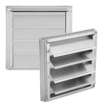 Cubierta de Ventilación - BESTGIFT - Secador de Exterior de Acero Inoxidable, 100 mm,