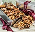 Dulcet's Chocolate Raspberry Cinnamon Apricot Rugelah Bakery Gift Snack Basket