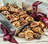 Rugelach Gift baskets, assorted fillings of chocolate chip, raspberry, sugar cinnamon and apricot. Top gift!