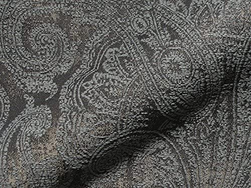 Möbelstoff Bezugsstoff Posterstoff Meterware Stoff Jacquard Ornament Barock Rank