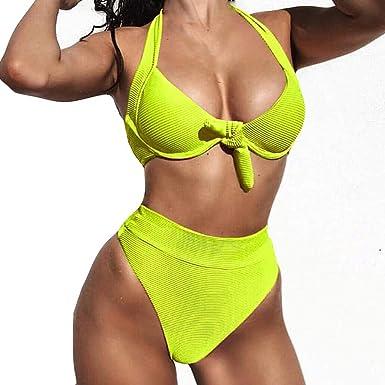 Bikinis Mujer 2019 Brasileños SHOBDW Sexy Traje de Baño ...