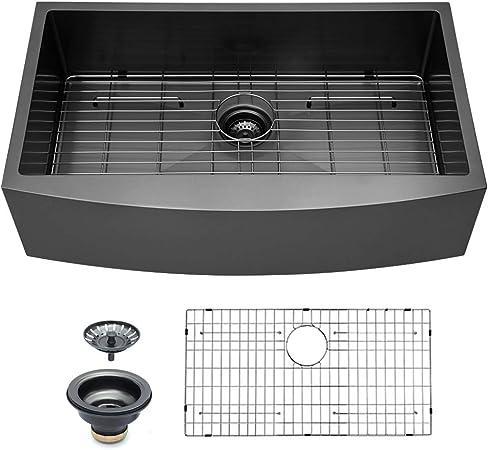 Amazon.com: Logmey - Fregadero de cocina (acero inoxidable ...