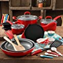 The Pioneer Woman Vintage Speckle 24 Piece Cookware Combo Set