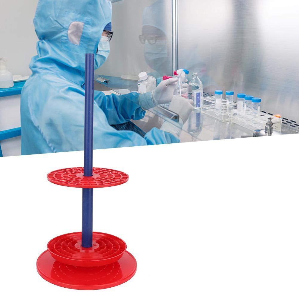 Forniture per Laboratorio Supporto per Pipette Multiuso Rosso di Alta qualit/à Supporto per pipettatore Supporto per Pipette da Laboratorio