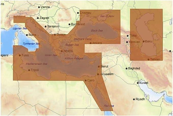 Tarjeta C-MAP MAX-N+ Wide: Amazon.es: Electrónica