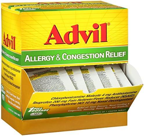 Advil Allergy Congestion Dispenser Reliever