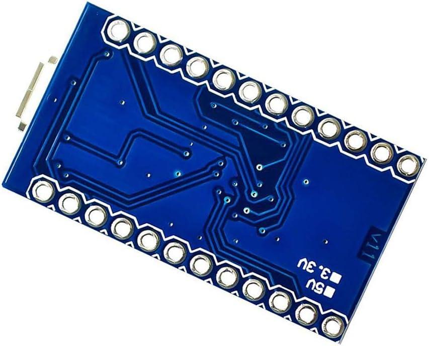 beIilan Pro Micro 5v 16M Mini Leonardo ATMEGA32U4 Modul Controller Board Ersatz f/ür Arduino Nano