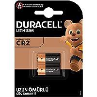 Duracell Yüksek Güçlü Lityum CR2 Pil 3V, 2'li paket (CR15H270) sensörler, anahtarsız kilitler, fotoğraf flaşları, el…