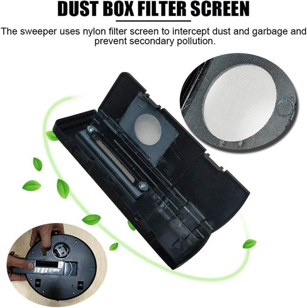SMX Nettoyage Automatique Robot Aspirateur Machine Chargeur USB Intelligente Sol Balayer poussière Catcher Cleaner Tapis for la Maison Hot (Color : White) Black