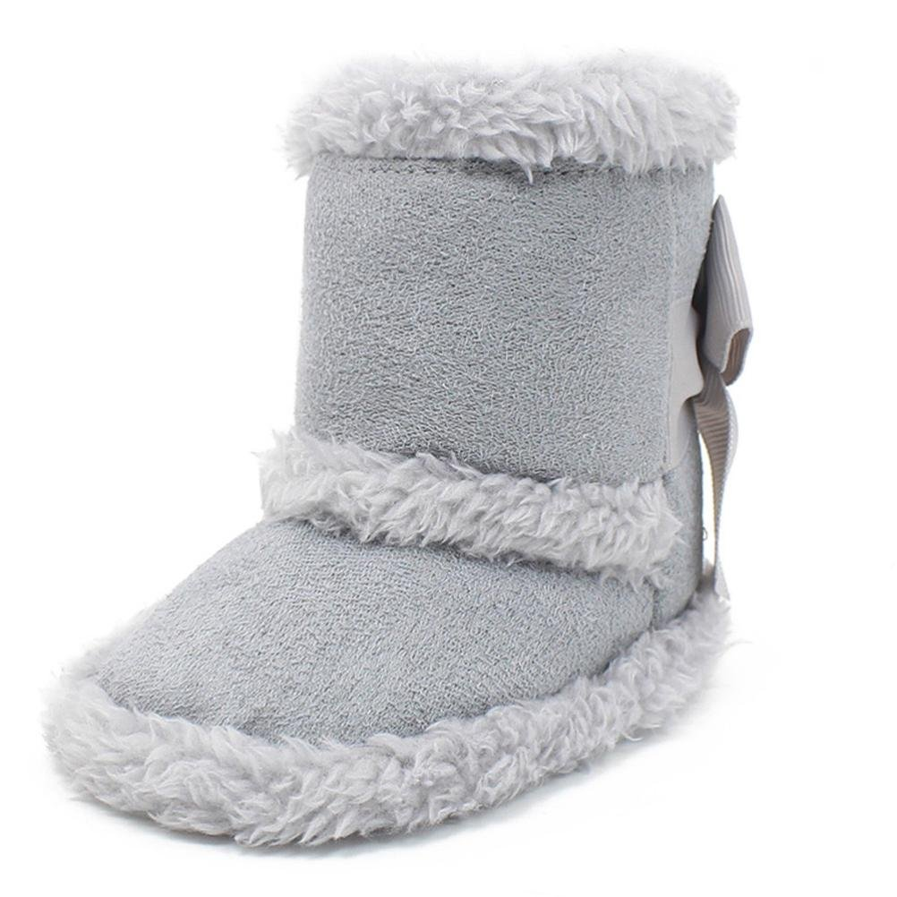 Gotd Warm Winter Baby Girls Boys Soft Sole Snow Boots Crib Shoes Toddler Boots