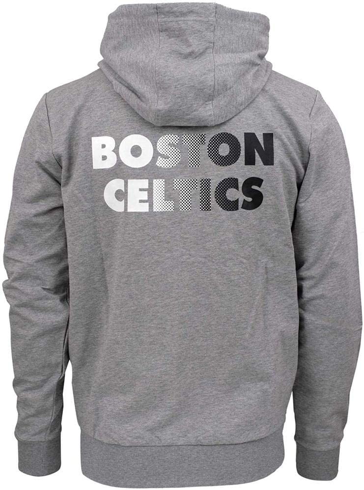 New Era NBA Fz Gradient Wrdmrk Hoody Boscel LGH Sweatshirt Grau