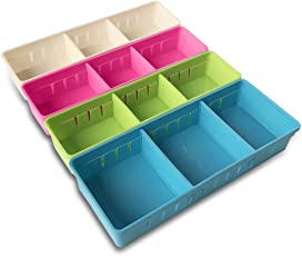 office drawer dividers. Beautiful Office MMMMARILYN Drawer Organizer With 2 Adjustable Dividers White S  Pink Green Intended Office