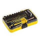 Schraubendreher Set, Kungix 71 in 1 Reparatur Werkzeugset Magnet Professional Haushaltsreparatur Schraubenzieher Handwerkzeuge Kit für Handy, Tablette PC, Laptop Geräte