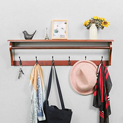 Amazon.com: Coat Racks Wall Hanging Rack Coat Stand Coat ...