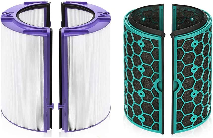 LZH FILTER Filtro HEPA de 360° de Repuesto Compatible con Dyson HP04 TP04 DP04 Purificador de Aire Puro y Ventilador de Torre: Amazon.es: Hogar