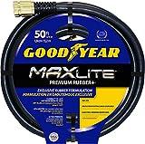 Swan Products Goodyear CGYSGC58050 Maxlite Crush Proof Garden Hose 50 ft, 5/8'' diameter, Black