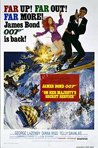 Posters USA - 007 On Her Majesty's Secret Service James Bond
