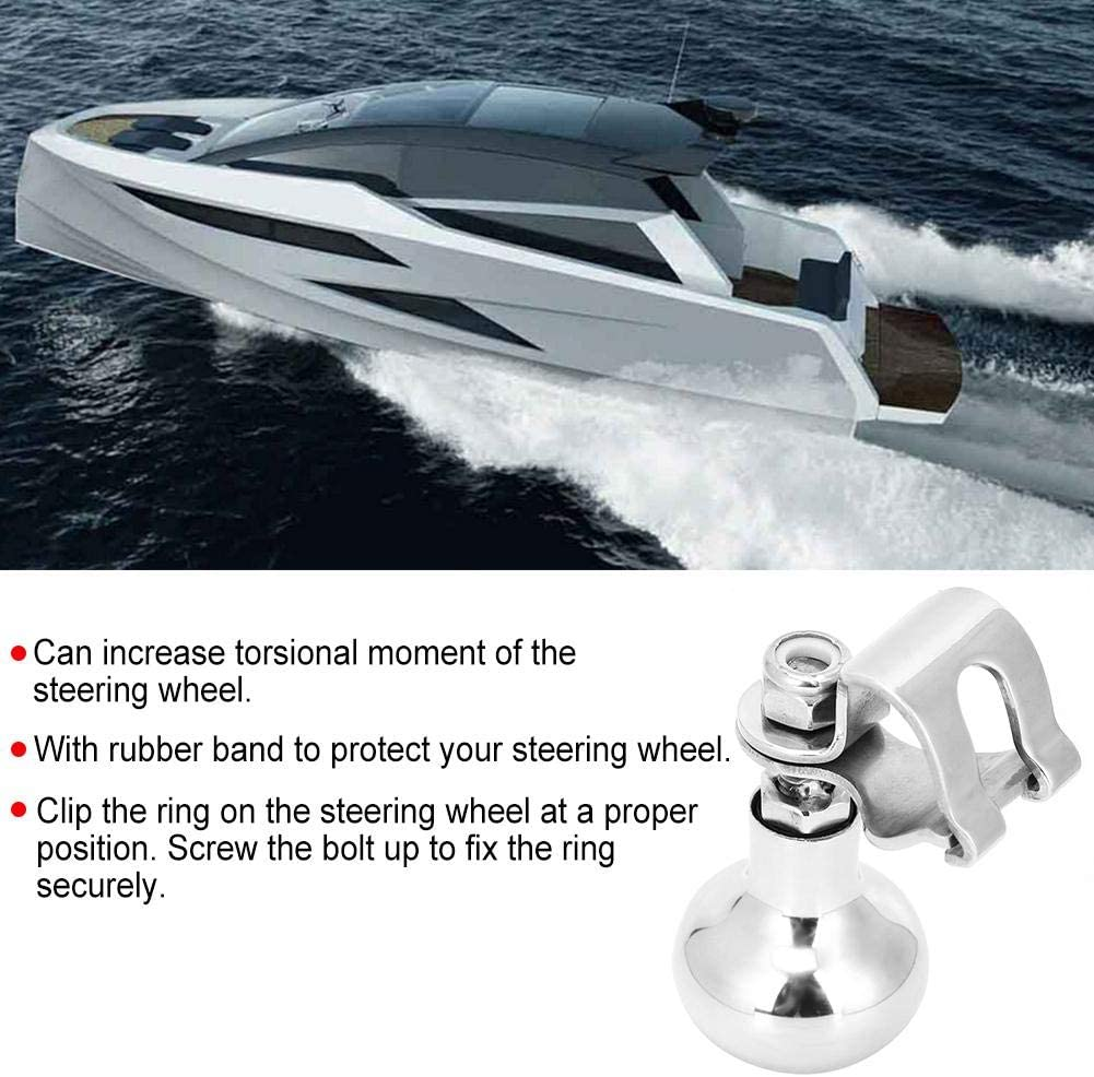 Lenkradknauf Fydun Universal-Lenkradknauf Power Ball Zusatzhandgriff f/ür Yachtboote