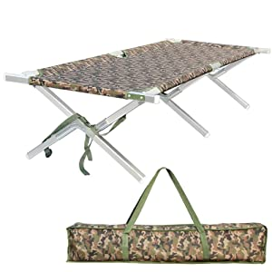 Camping Cot Portable Foldable Military