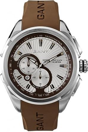 GANT W105810 - Reloj para hombres, correa de silicona: Amazon.es: Relojes