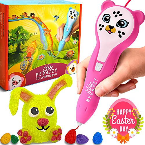 (3D Pen for Kids Girl Gifts - Girl Toys Art Set - Cool Birthday Gifts for Girls Boys Teen - Fun Educational Learning Toys for Girls Boys Kids - Best)