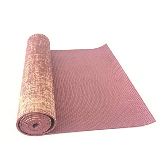 Baibian Yute orgánico Natural Yute PVC Estera de Yoga ...