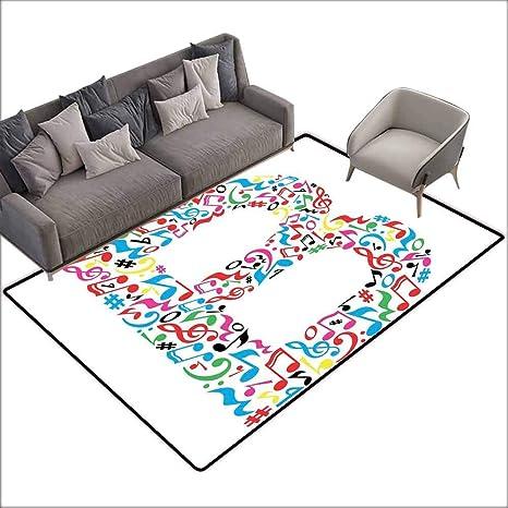 Remarkable Amazon Com Office Chair Floor Mat Foot Pad Letter B Cjindustries Chair Design For Home Cjindustriesco