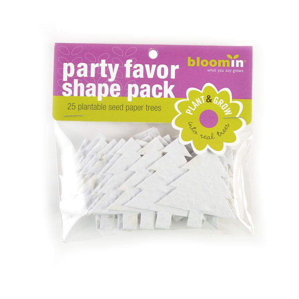 Amazon.com: Bloomin Seed Paper Shapes Packs - Embedded with ...